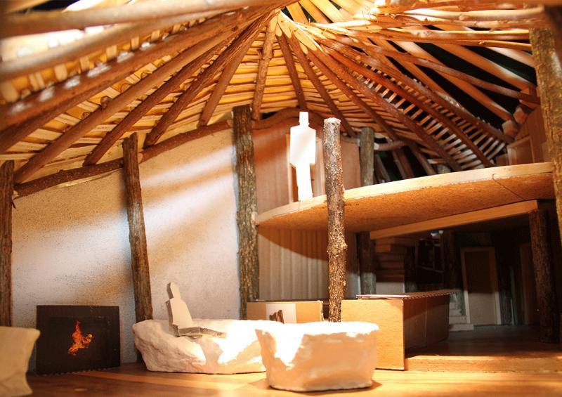 hobbithaus aus nur einem baum in sterreich das einbaumhaus. Black Bedroom Furniture Sets. Home Design Ideas