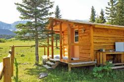 Rocky Mountains Kanada - Urlaub in Blockhütte in der Einsamkeit