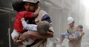 Weißhelme retten Menschenleben | Bild: https://www.whitehelmets.org/