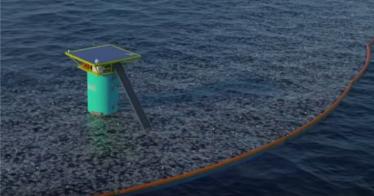 Der 22-jährige Boyan Slat will die Ozeane von Plastikmüll befreien