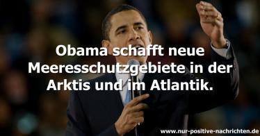 Neue Meeresschutzgebiete: Obama schützt die Arktis und den Atlantik