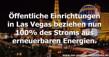 Las Vegas: die größte Grünstrom-Stadt der USA