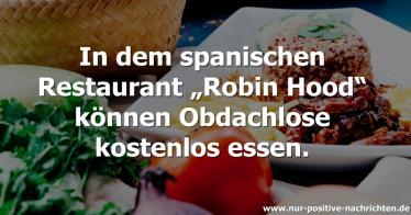 """Restaurant """"Robin Hood"""": Reiche zahlen, Arme essen kostenlos"""