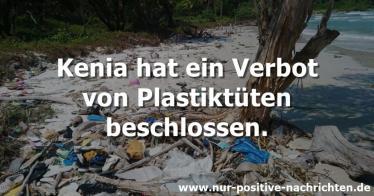 Kenia hat ein Verbot von Plastiktüten beschlossen (Video)