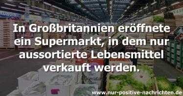 Supermarkt für abgelaufene Lebensmittel
