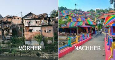 Das Regenbogen-Dorf