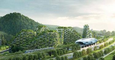 Liuzhou Forest City: China baut die erste vollständig begrünte Stadt (Video)
