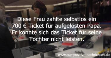 Unbekannte kauft 700 Euro Flugticket für Mädchen - der Vater konnte es sich nicht leisten