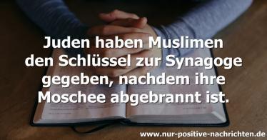 Zusammenhalt nach Moscheebrand