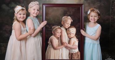 Drei Mädchen besiegten gemeinsam den Krebs und wurden Freundinnen fürs Leben