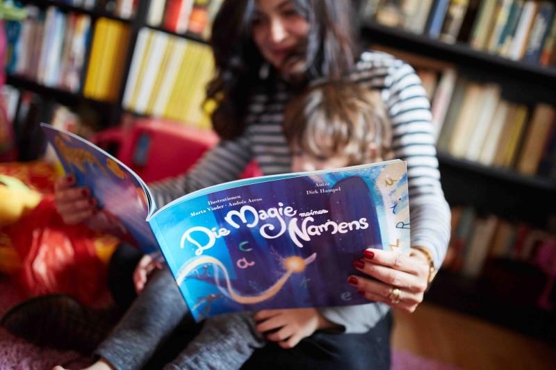 """Personalisiertes Kinderbuch """"Die Magie meines Namens"""""""