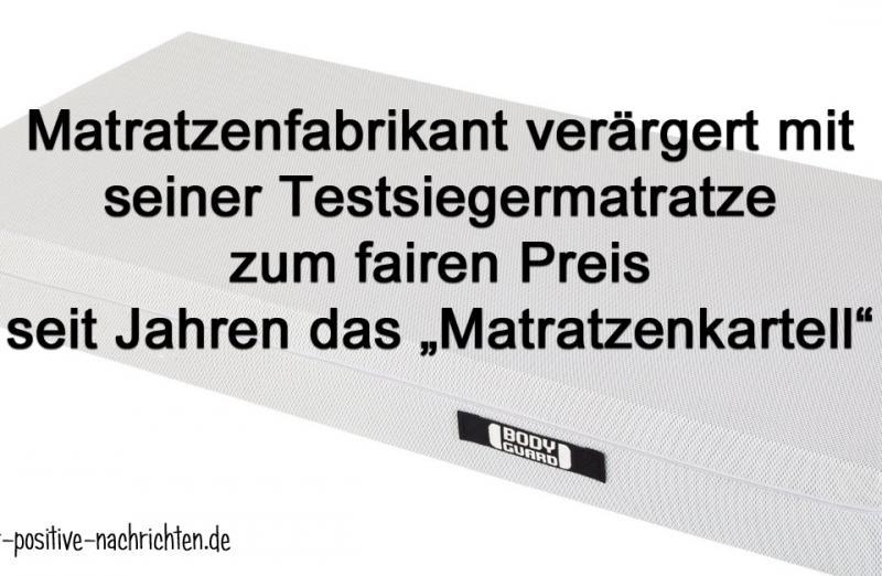 """""""Anti Kartell Matratze"""" zum fairen Preis   Quelle: bett1.de"""