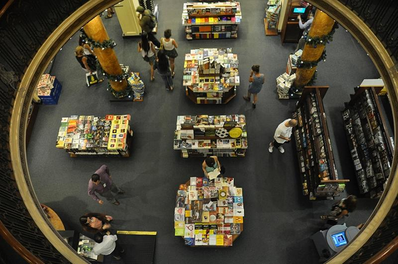 Buenso Aires Buchhandlung im Theater El Ateneo Grand Splendid | Quelle: https://www.flickr.com/photos/pepsiline/7794698222/
