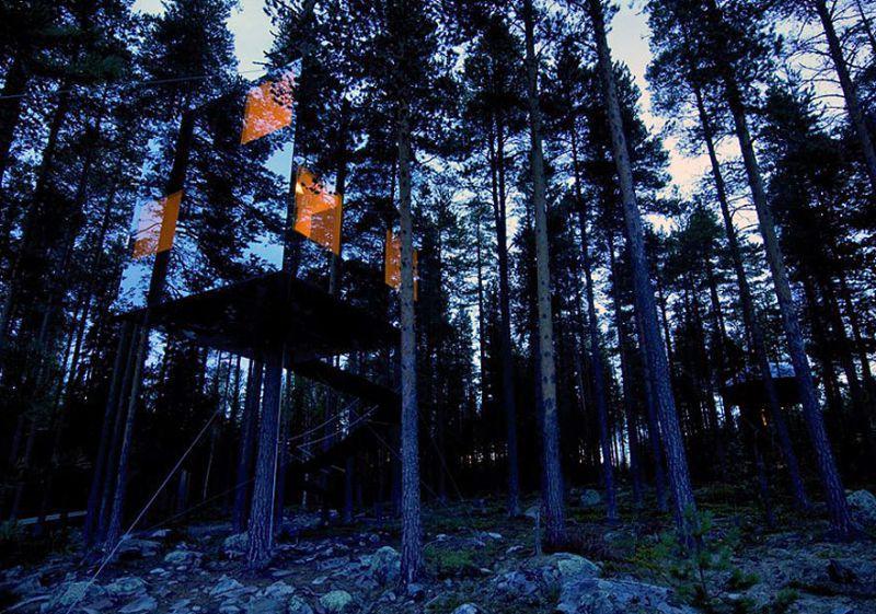 Spiegel Baumhaus Schweden | Architekt: http://www.tvark.se/