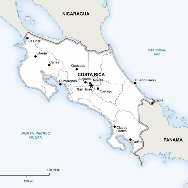 Costa Rica gewinnt 98 Prozent seines Energiebedarfs aus regenerativen Quellen