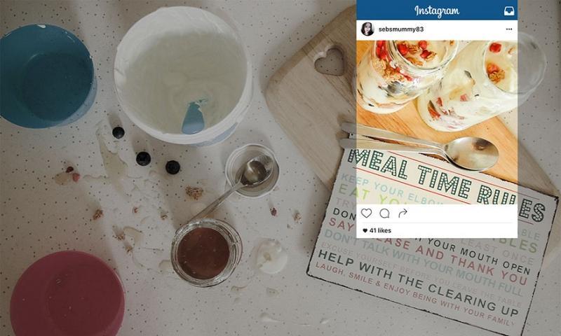 Warheit Instagram Bilder - ohne Beschnitt | Quelle: http://www.wrenkitchens.com/blog/kitchen-lived-perception-vs-reality/