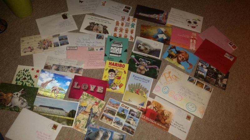 Sendet Postkarten an meine kleine Kämpfermaus - Epilepsie na und
