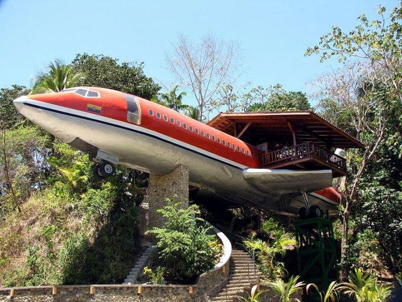 Flugzeug Baumhaus, Costa Rica | Quelle: http://www.costaverde.com/