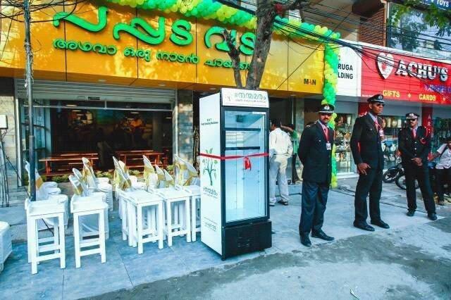 Kühlschrank für Obdachlose in Indien | Quelle: https://www.facebook.com/Pappadavada/photos