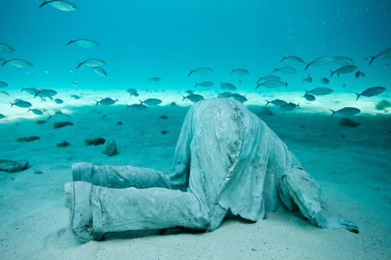Faszinierendes Unterwassermuseum in Mexiko | Foto:  Jason deCaires Taylor