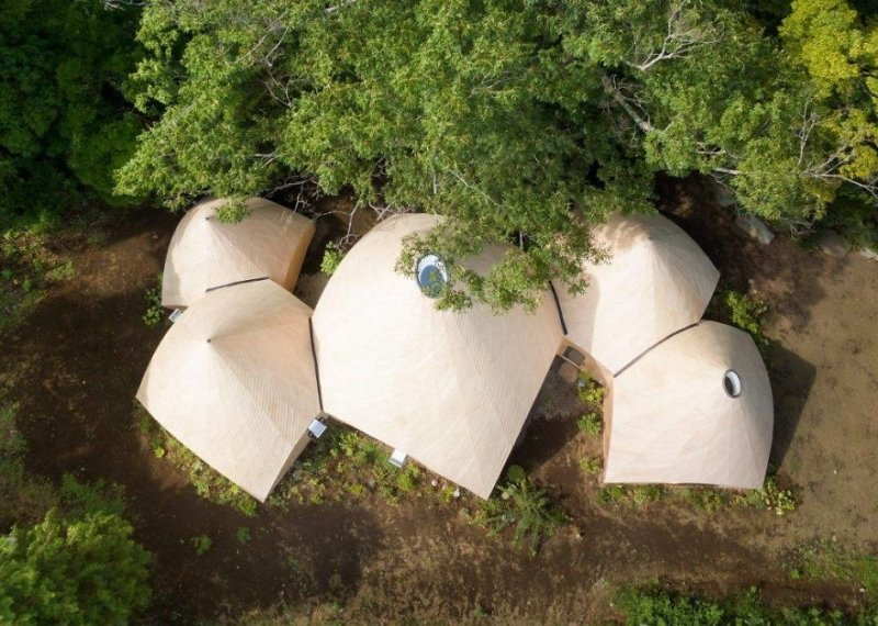 Waldhaus in Form eines Tipis (Zelts) | Bilderquelle: Issei Suma