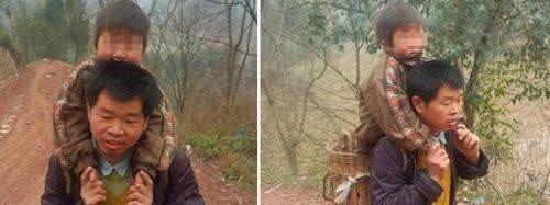 Warum dieser Vater seinen Sohn jeden Tag 14 Kilometer trägt verdient unseren Respekt