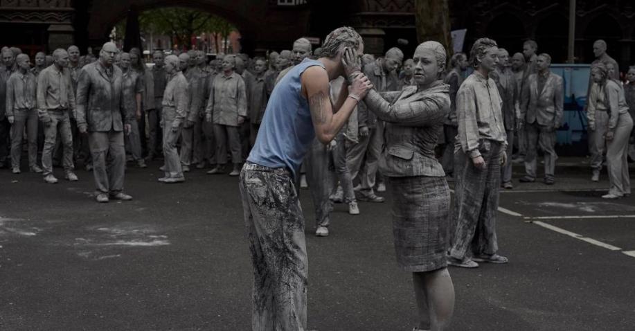 1000 Gestalten: Friedlicher Protest gegen den G20-Gipfel in Hamburg (Video)
