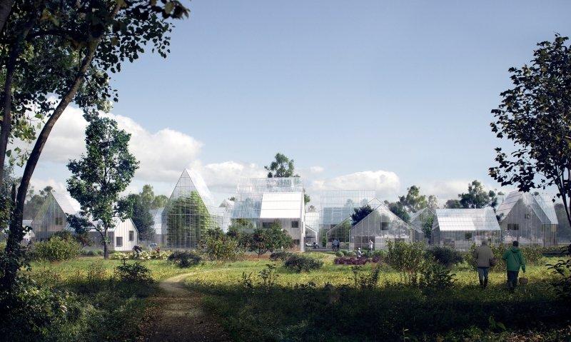 Autarkes Öko-Dorf ReGen Village | Quelle: http://www.effekt.dk/work#/regenvillages/