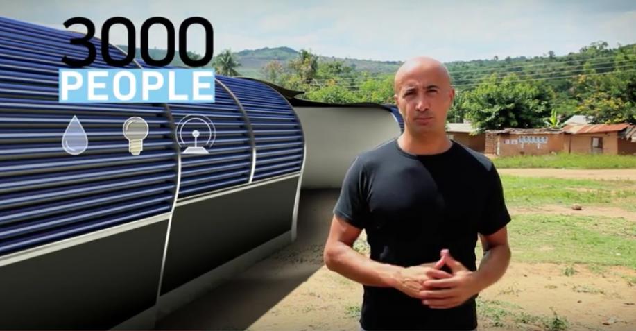 Watly reinigt Wasser, bietet Internetzugang und liefert Strom (Video)