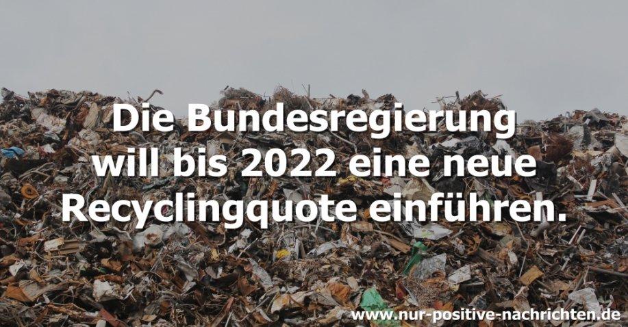 Mehr recyceln, weniger wegschmeißen