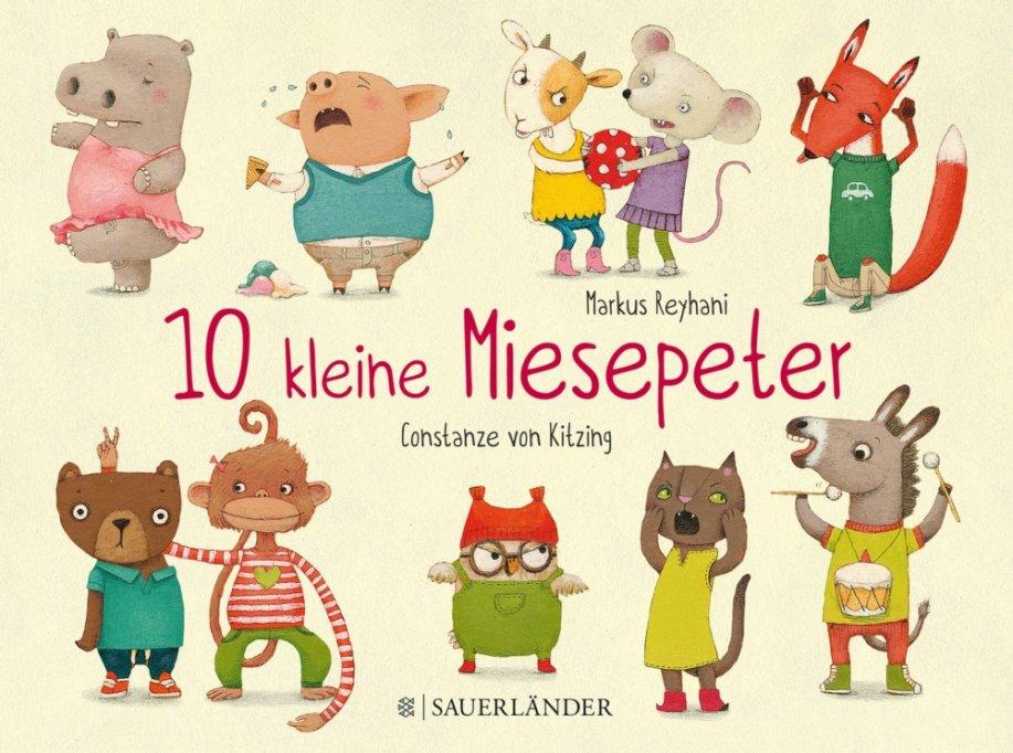 10 kleine Miesepeter - Buchrezension