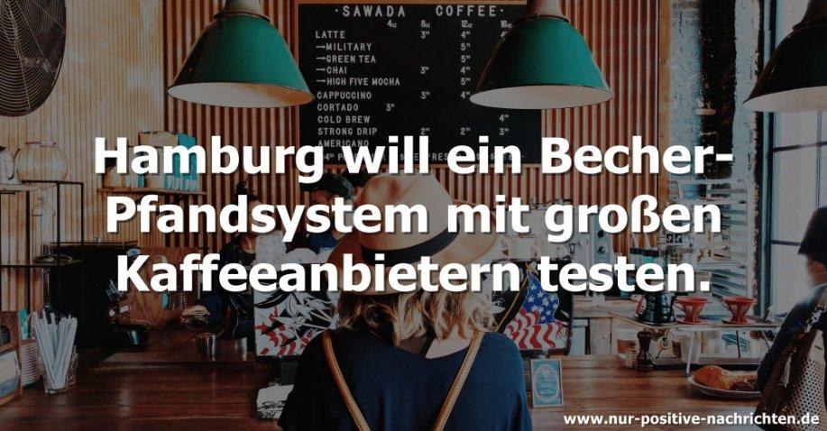 """""""Kehrwieder-Becher"""": Hamburg plant Becher-Pfandsystem mit großen Kaffeeanbietern"""