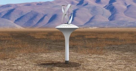 WaterSeer gewinnt Trinkwasser aus der Luft (Video)