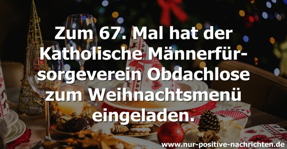 Obdachlose feiern Weihnachten im Hofbräuhaus